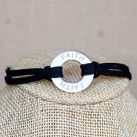 Stainless Steel Faith Bracelet
