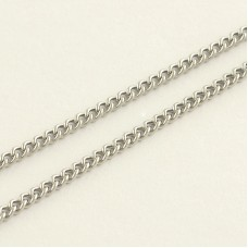 Custom 1.5mm  Curb Link chain Bracelet