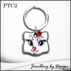 Custom Engraved Stainless Steel Pet Tag female