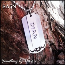 Custom Name Stainless Steel Mens Necklace