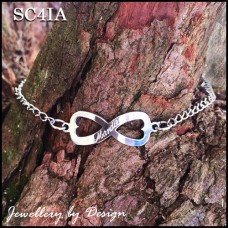 Custom Engraved Stainless Steel Bracelet