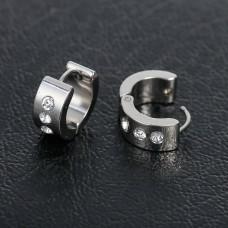 Titanium Huggie Earrings