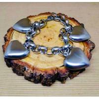 7mm Stainless Steel Rolo Bracelet