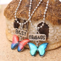2Pc Best Friends Jewelry Necklace Set