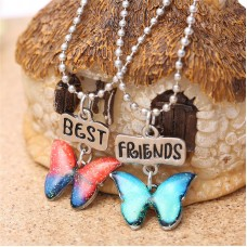 2Pc Best Friends Jewelry Necklace Set