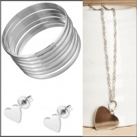 2Pc Set with Necklace & Earrings