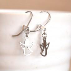 Stainless Steel Dangle Earring