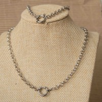 5mm Rolo Stainless Steel Set with 65cm Necklace & Bracelet