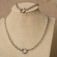 5mm Rolo Stainless Steel Set with 55cm Necklace & Bracelet