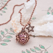 Bell Cage Necklace with Star detail