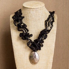 Lace & Locket Necklace