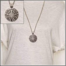 Alloy Circular Necklace