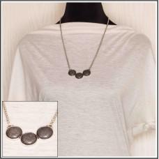 Gray Howlite Pendant Necklace