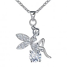 S925 Sterling Silver Fairy Necklace