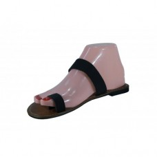 Black Ladies Sandals Size 5