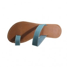 Teal Ladies Sandals Size 3