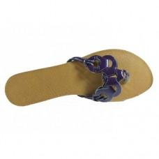 Purple Ladies Sandals Size 8