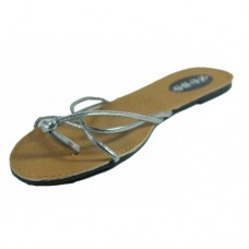 Silver Ladies Sandals Size 5