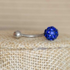 Stainless Steel Body Piercing Jewerllery - Blue