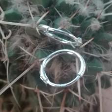 S925 Sterling Silver Hoop Earrings