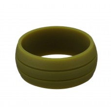 Silicone UNISEX Ring #9 Army Green