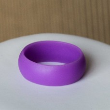 Silicone UNISEX Ring #10 Purple