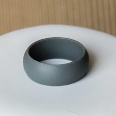 Silicone UNISEX Ring #10 Dark Gray