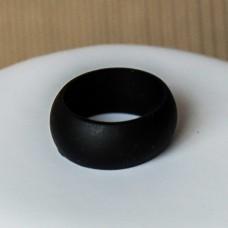 Silicone UNISEX Ring #8 Black