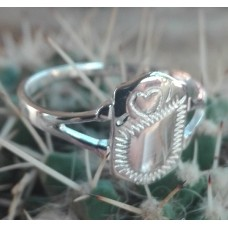 S925 Sterling Silver Maiden Ring #7.5
