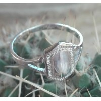 S925 Sterling Silver Maiden Ring #5