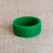 Silicone UNISEX Ring #10 Green