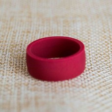 Silicone UNISEX Ring #10 Red