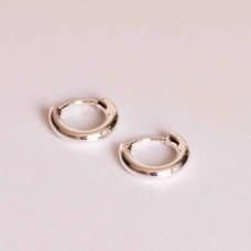S925 Sterling Silver 14mm Sleaper Earrings
