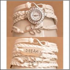 2Pc Set with Bracelet & Watch