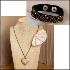 2Pc Set with Necklace & Bracelet