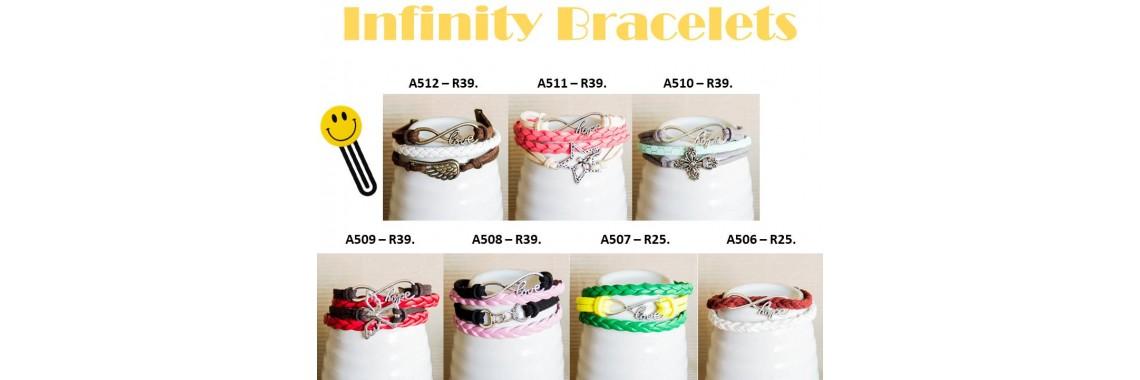 Infinity Bracelets2