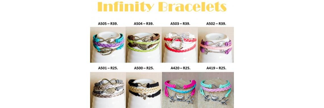Infinity Bracelets1