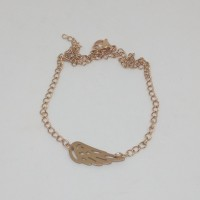 2mm Rose gold Curb Stainless Steel Ankle Chain