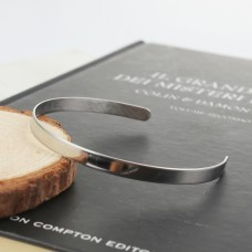 Stainless Steel Open Bangle 5mm