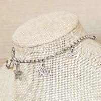 Stainless Steel BestMoM Charm Bracelet SILVER 3mm