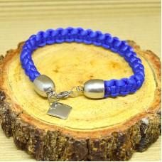 Stainless Steel Braided Infinity Bracelet