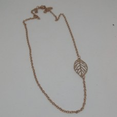 Stainless Steel Rose Gold 3mm fine Rolo Necklace