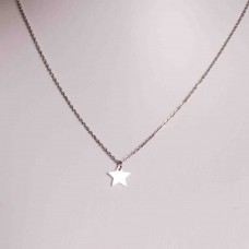 Small Star Stainless Steel Necklace