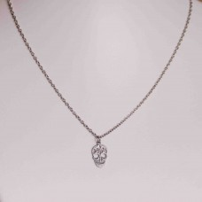 Small Skull Stainless Steel Necklace