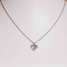 Small Heart Stainless Steel Necklace