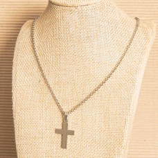 Unisex Cross Stainless Steel Necklace