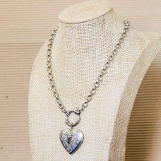 6mm Rolo Stainless Steel Necklace with Locket