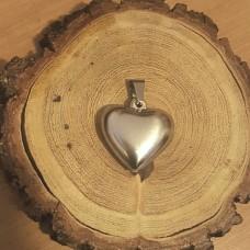 Stainless Steel Pendant - Heart 5