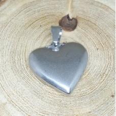 Stainless Steel Pendant - Heart 6