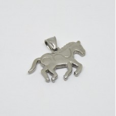 Stainless Steel Pendant - Horse